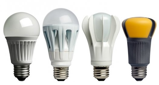 Comparando LED vs CFL vs bombillas incandescentes
